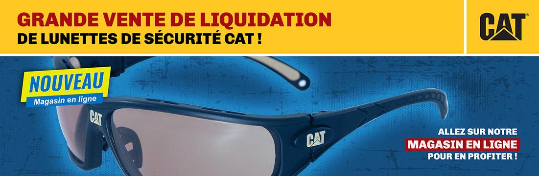 Lunette de sécurité CAT